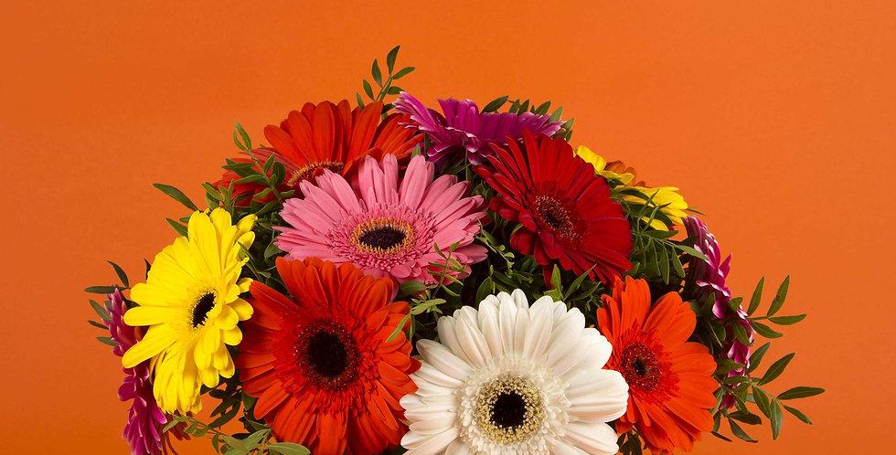 Bouquet Bulle Gerbera