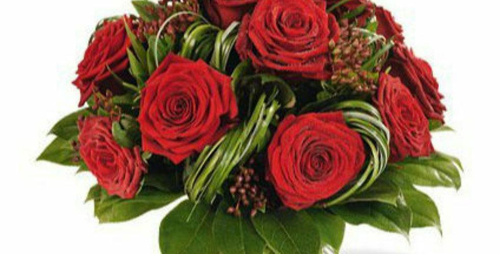 """Bouquet bulle  """"le romantique"""""""