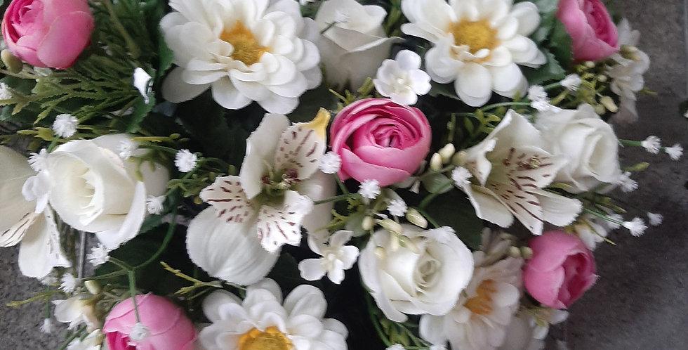 Coeur pastel 30x30cm