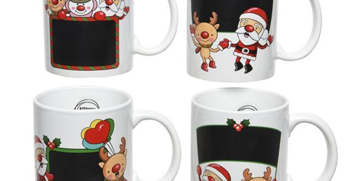 Mug de Noël modèle suprise
