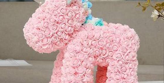 Licorne en fleur éternelle
