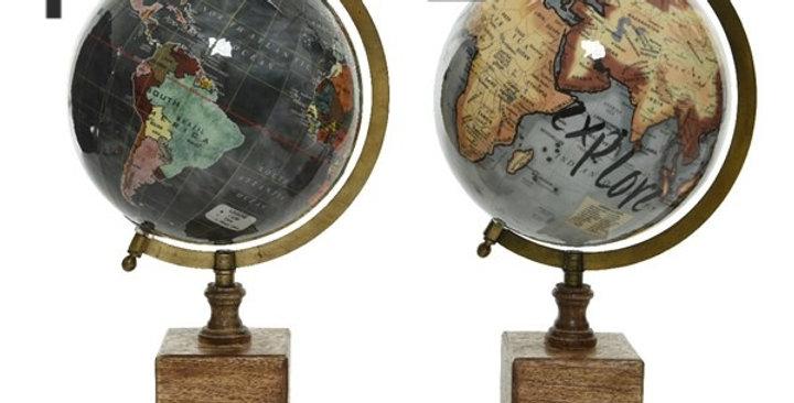 Globes 2 coloris