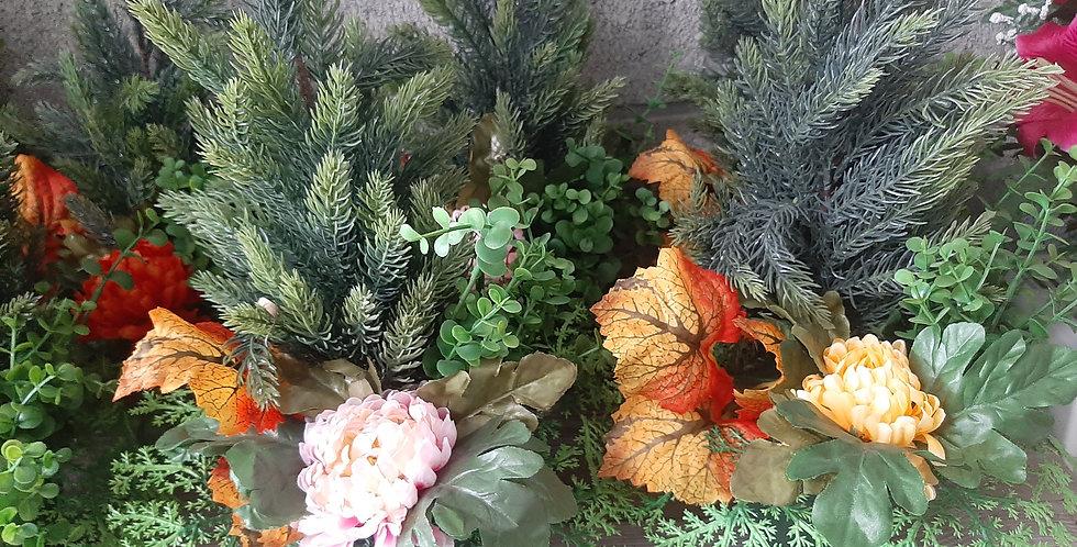 Montage plantes artificiel +- 25cm