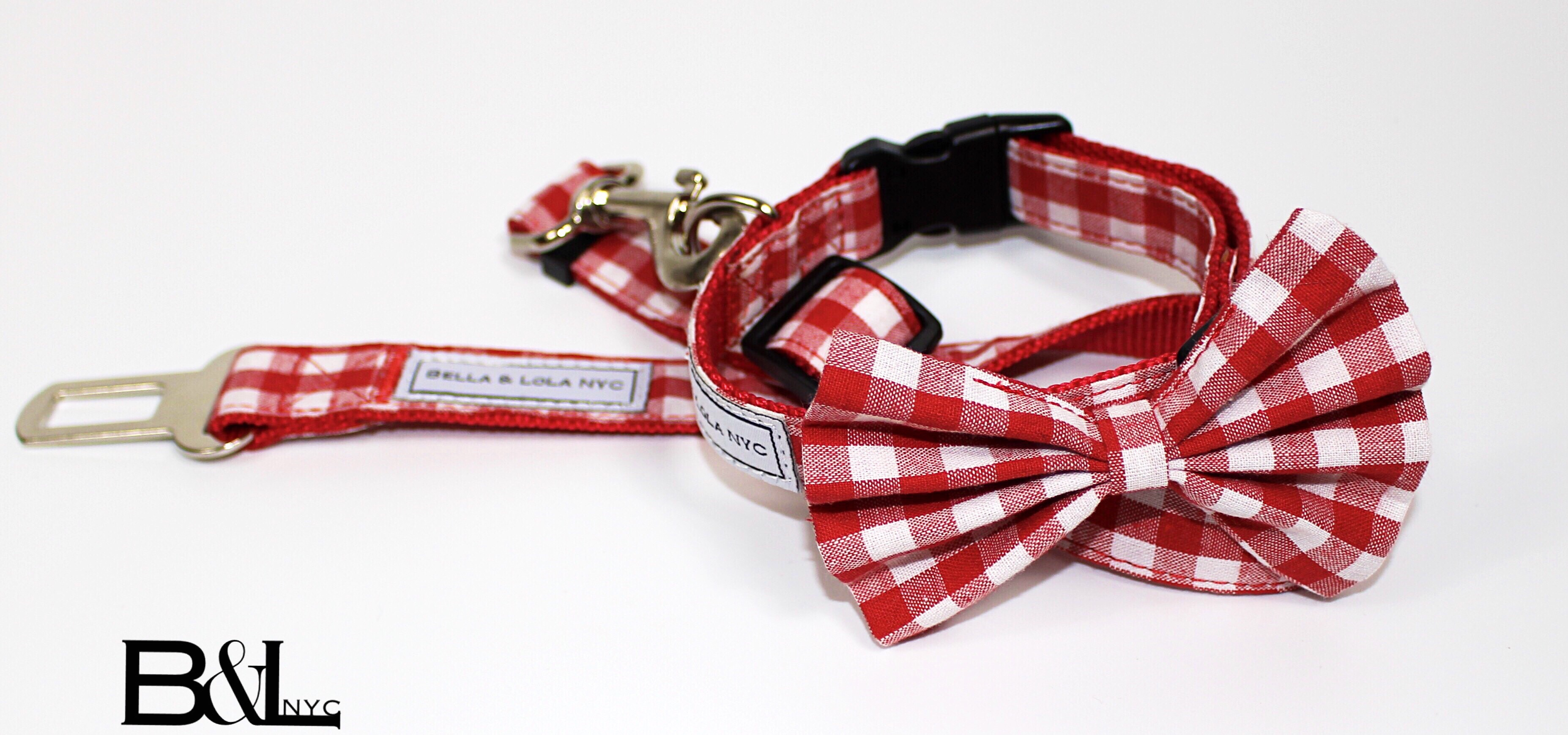 Bow Tie Collar/ & Seat Belt
