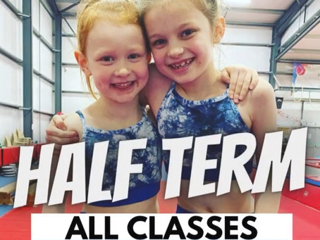 Half Term, All Classes As Normal