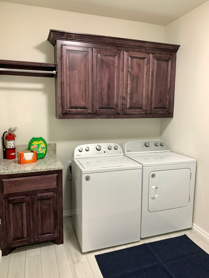 Longhorn Laundry Room