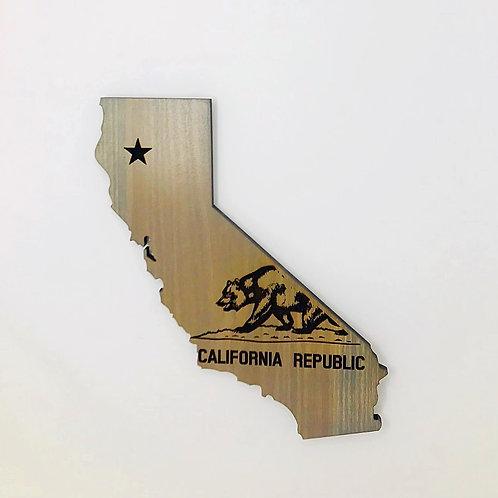 California with Bear - Medium