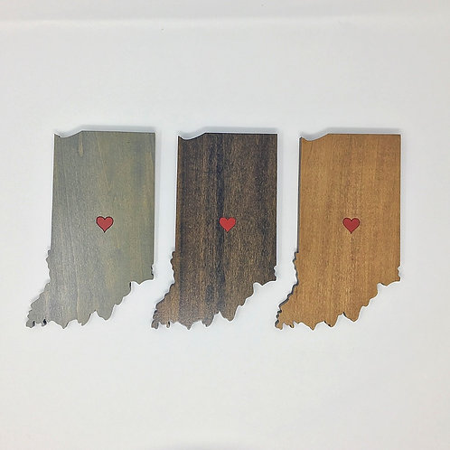 Indiana with Heart - Small