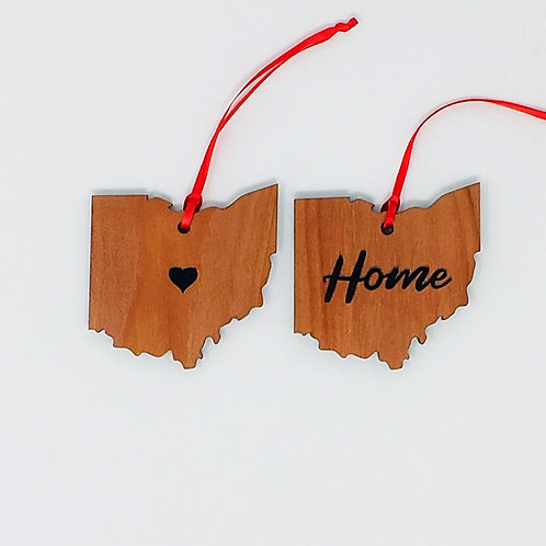 Ohio Christmas Ornaments