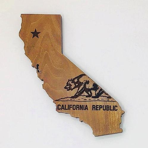 California with Bear - Small