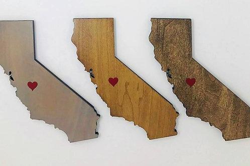 California with Heart - Medium