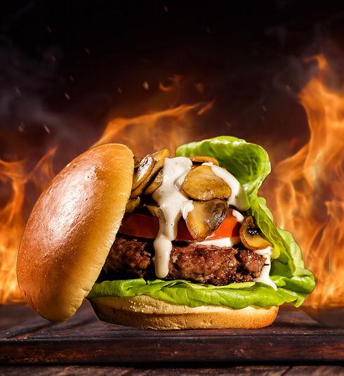 Delicious Gourmet Burger by Yonge Burger in Toronto