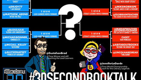 Round One: 2019 #30secondbooktalk Championship
