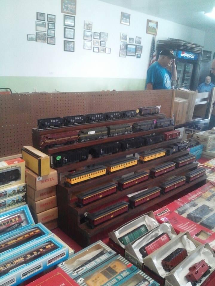 Model Train vendors display 1