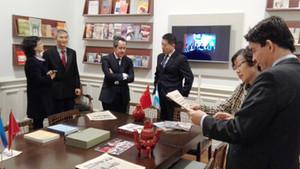 Visita de la Universidad SISU de Shangai