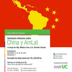 Seminario intensivo China y AmLat