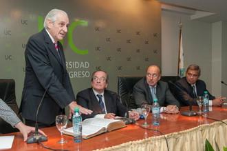 Asumió el nuevo rector de la UC Rubén Bresso