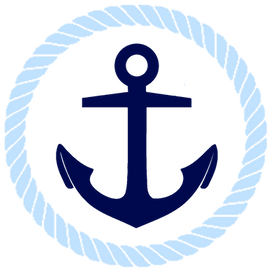An anchor depicting stability and Hebrews 6:19.