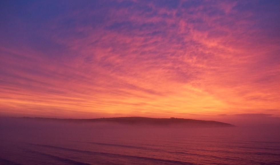 Sunrise over Coolmain