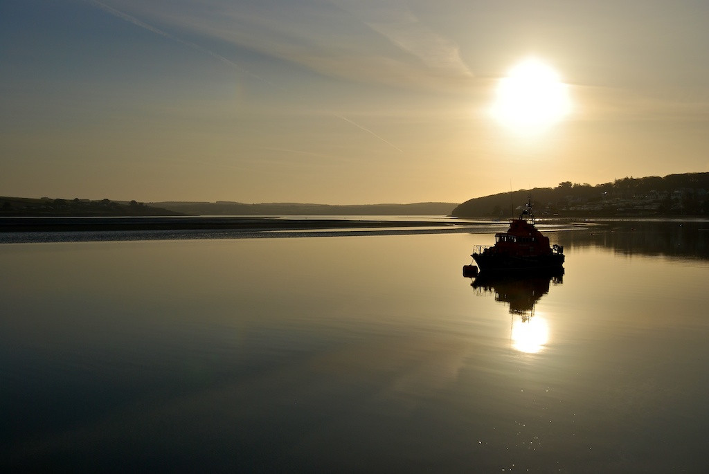 Dawn over the Courtmacsherry Lifeboat