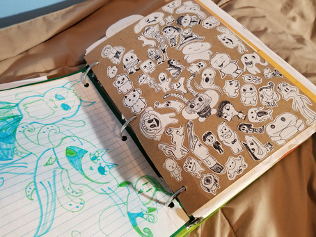 Alternative to a keeping a Sketchbook?