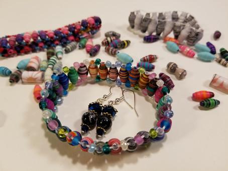 Paper Beads Tutorial!