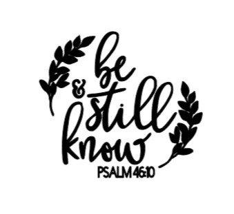 Verse: Salmo 46:10