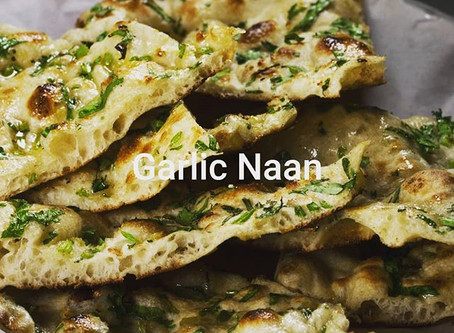 Free Garlic Naan