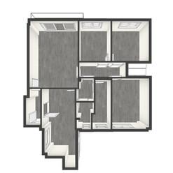 Plano 3D Augusto González Besada