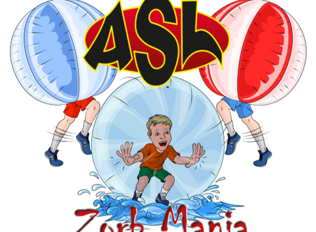 ASL ZORB Mania open day (3rd September 2018) @ GreenPark, Aylesbury