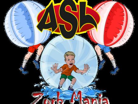 ASL ZORB Mania open day (3rd September 2018) @ GreenPark, Aylesbury