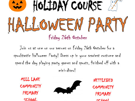 ASL HALLOWEEN PARTY - 26th OCTOBER