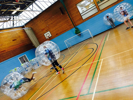 Book your Christmas Party with ASL Zorb Mania