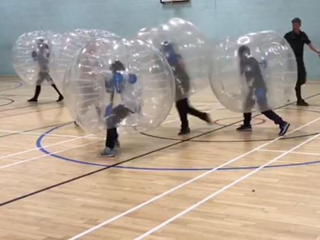 Double Header of ZORBS see's an end to an exciting Month