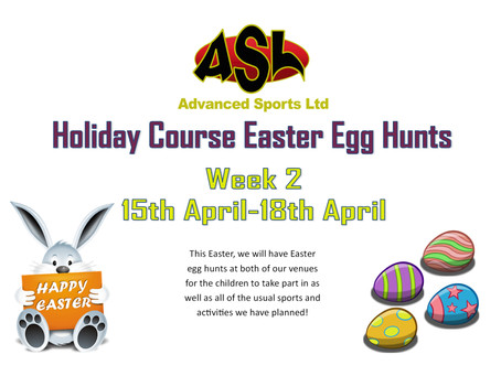Easter Holiday Courses - Easter Egg Hunt