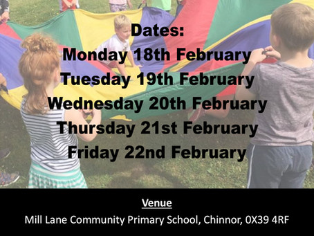 February Half Term Holiday Courses