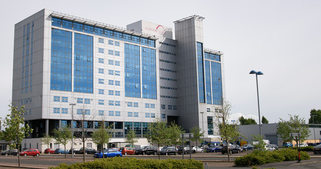 The Cardonald campus of Glasgow Clyde College, where the Television course is based