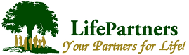LifePartners logo, Insurance agents in Limassol. Insurance brokers in limassol.