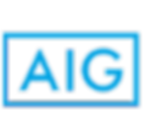 "The logo of a European Insurance provider named ""AIG"""