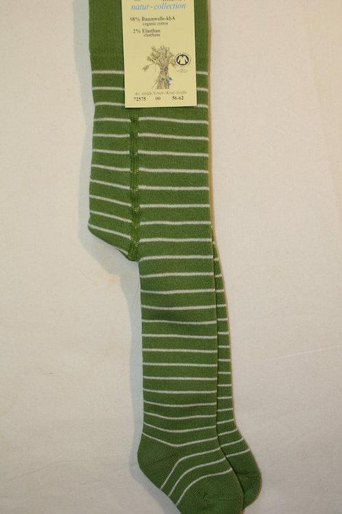 Strumpfhose Frottee ab Gr.56, Grün