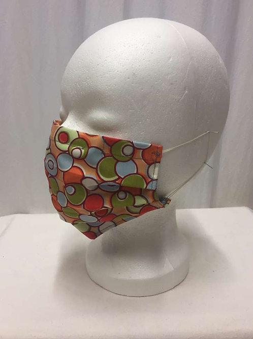 Maske, Punkte orange