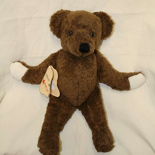 Teddy von Kallisto, braun vegan, Baumwolle (kbA)