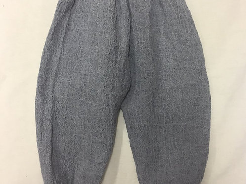 Leinenhose ab Gr 50, grau