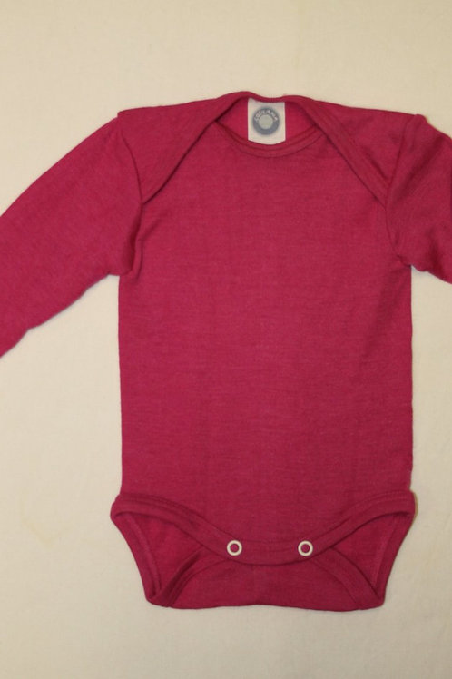 Wolle/Seide Body ab Gr.50, pink