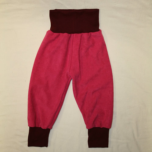 Frotteehose ab Gr.50, pink