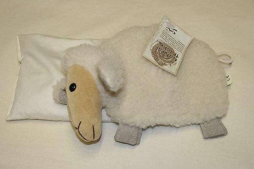 Kirschkernkissen Schaf liegend, Saling