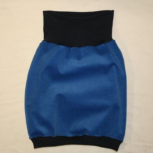 Ballonrock aus Cord, blau ab Gr.92