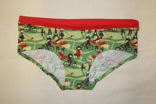 Panty grün, Fahrrad von colorio organics