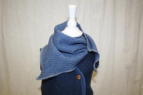 Dreieckstuch, jeansblau