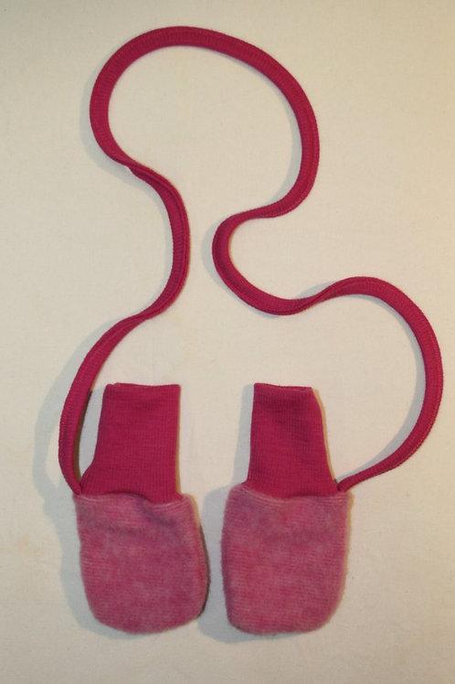 Babyhandschuhe, pink